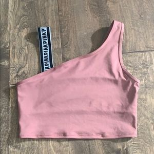 PINK ultimate cropped tank
